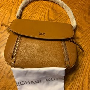 Brand New Micheal Kors Leather Crossbody